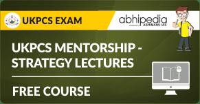 """UKPCS  Mentorship - Strategy Lectures"""