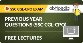 """""""Previous year questions (SSC CGL-CPO)"""""""