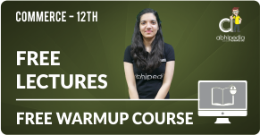 """""""Warm up course for 12th commerce"""""""