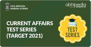 """Target IAS 2021-22 : Current Affairs Test Series"""